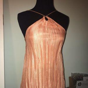 Petite Girl Stye Peach Dress